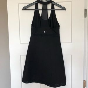 Gap Fit T-Back Mesh Detail Dress